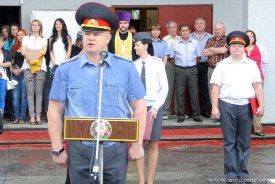 Министр внутренних дел ПМР генерал-майор милиции Кузьмичев Г.Ю.