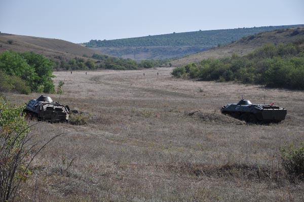 армия пмр приднестровья  бтр