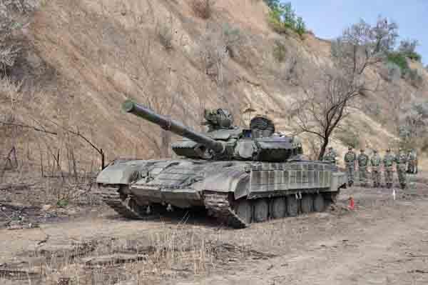 Приднестровская армия танки