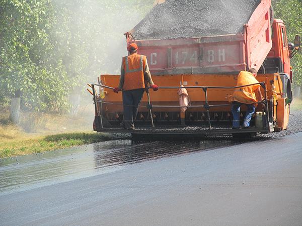 Ремонт автодороги «Брест-Кишинёв-Одесса»