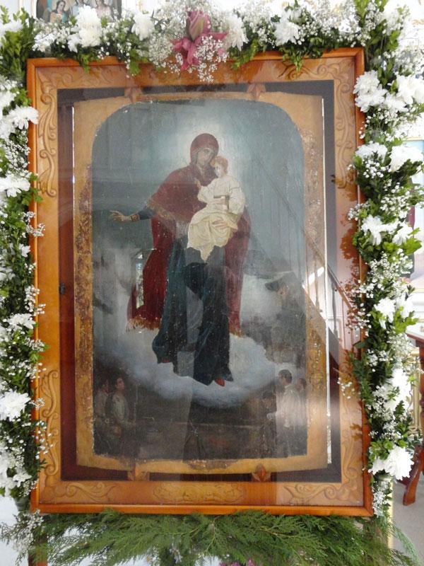 Икона божией матери Августовская