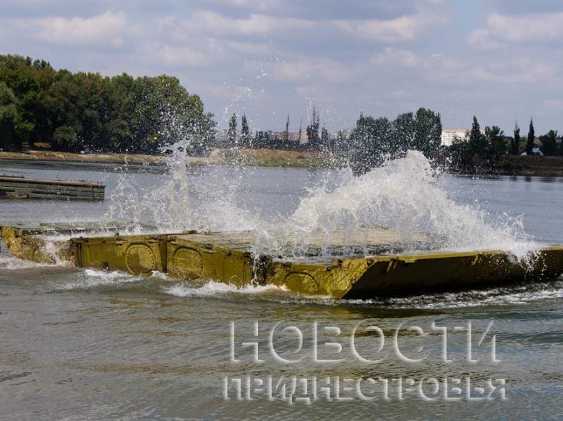 приднестровская армия переправа через Днестр